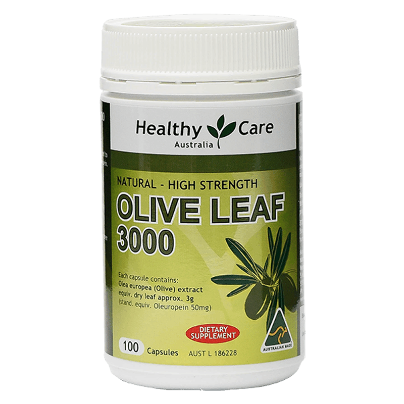 Healthy Care Olive Leaf 3000 (100 capsules)