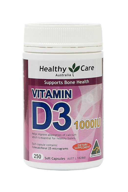 healthy care vitamin d3