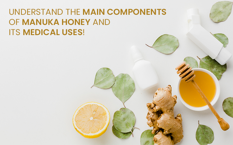 UNDERSTAND THE MAIN COMPONENTS OF MANUKA HONEY AND ITS MEDICAL USES!
